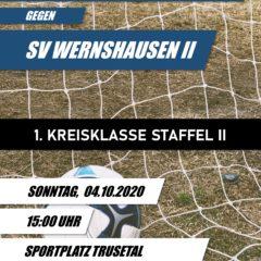1. Kreisklasse 2020/2021 04. Spieltag