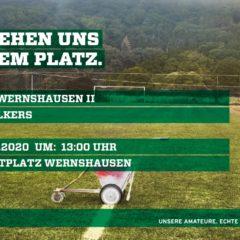 1. Kreisklasse 2020/2021 01. Spieltag