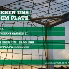 1. Kreisklasse 2020/2021 02. Spieltag