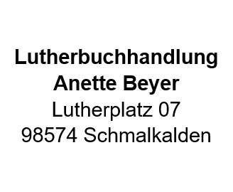Lutherbuchhandlung Frau Anette Beyer