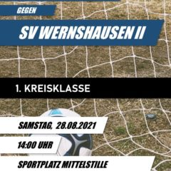 1. Kreisklasse 2021/2022 – 01. Spieltag